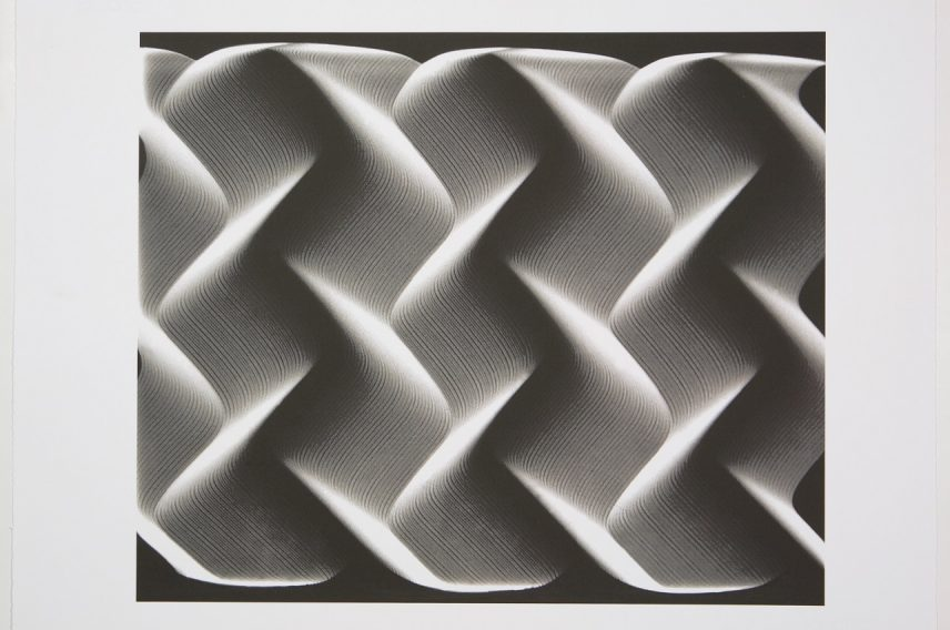 Woody Vasulka, 'Waveform Studies VII', 1977-2003. BERG Contemporary_ny